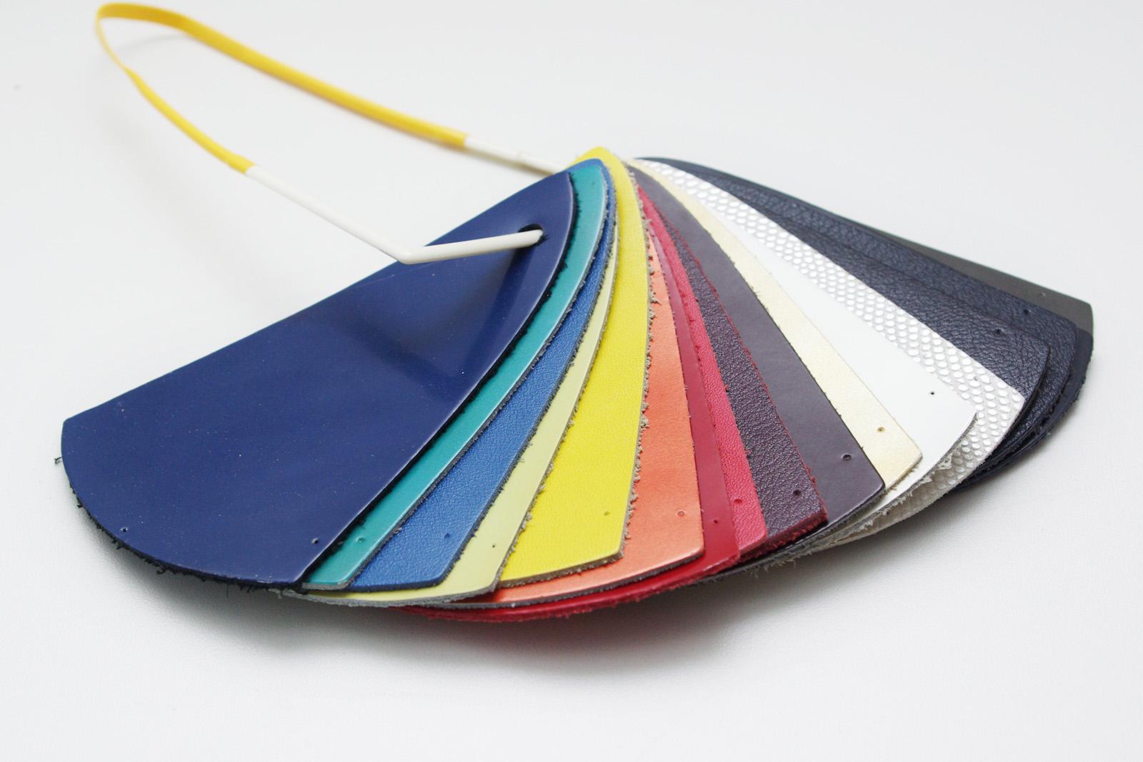 Kleurenwaaier leer