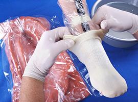6 | Molding aanbrengen over de voet